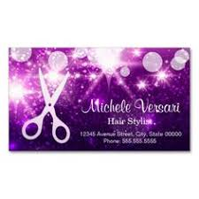Business Cards Hair Stylist Hair Stylist Business Appointment Card Navy Pink Navy Pink