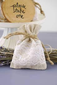favor bags linen lace 3x4 favor bags