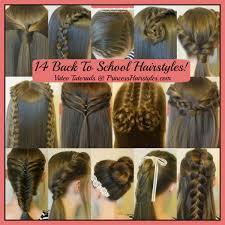 easy hairstyles not braids 14 easy hairstyles for school compilation 2 weeks of heatless hair