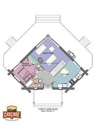 log home floor plans under 1500 sq ft