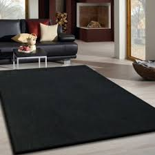 Ultra Modern Rugs Luxurious Area Rugs Square Black Awesome Velvet Rugs Solid