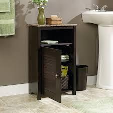 173 Best Bathroom Images On by Amazon Com Sauder Peppercorn Floor Cabinet Cinnamon Cherry