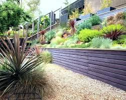 Sloping Garden Ideas Photos Sloping Garden Designs Modern Sloping Garden With Feature Pond