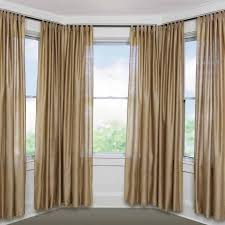 Bay Window Curtains Small Bay Window Curtain Rods Savage Architecture Excellent