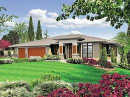 contemporary prairie style house plans modern prairie style home plan 6966am architectural designs