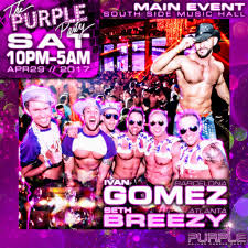 sm halloween party 2017 purple party weekend 2017 tickets thu apr 27 2017 at 10 00 pm