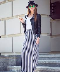 light blue and white striped maxi dress how to wear a maxi skirt 20 best
