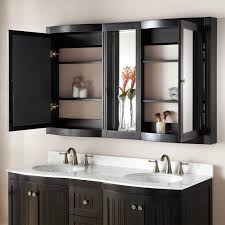 bathroom recessed mirror cabinet with all mirror medicine
