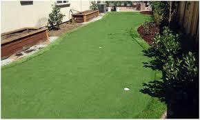 backyards cozy synthetic grass cost rail road flat california