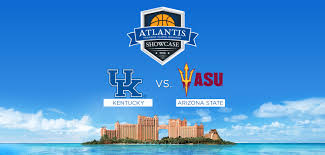 kentucky vs arizona state basketball in paradise atlantis
