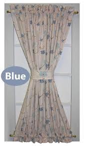 Curtain Door Panels Zoe Floral Taffeta Fabric Door Panel Curtain Door Window Curtain
