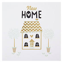 buy black olive new home greeting card at johnlewis