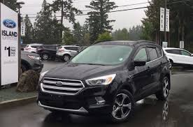 ford escape 2017 black 2017 ford escape se awd nav leather twin panel moonroof review