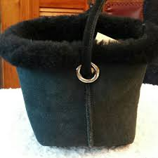 ugg australia sale mini ugg australia sheepskin black tote bag on sale 64
