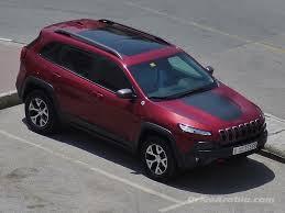 purple jeep cherokee so we got a 2014 jeep cherokee trailhawk drive arabia