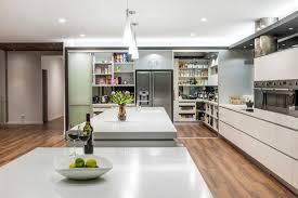 Kitchen Living Room Divider Ideas Kitchen Room Design Interior Stair Shaped Neutral Wooden Kitchen