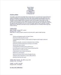 Dancer Resume Sample Dance Teacher Resume Best Resume Collection