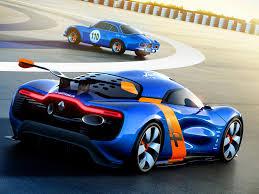 renault dezir renault alpine a110 50 concept official release autoevolution