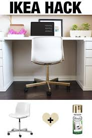 ikea office hack best 25 ikea office chair ideas on pinterest study desk ikea