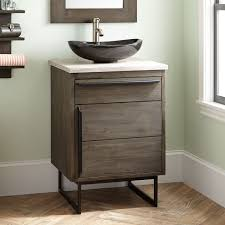 sleek sink vanity signature hardware