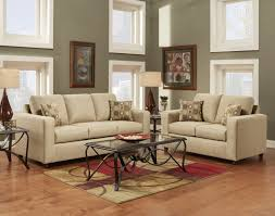 roundhill furniture fabric sofa loveseat set with pillows vivid