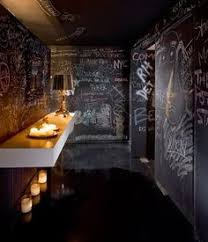 The Restroom Is Decorated In Warm Brown Tones Photo  Katrin - Restaurant bathroom design