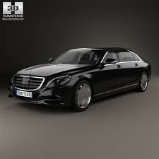 mercedes s class w222 mercedes s class w222 maybach 2016 by humster3d 3docean