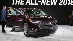 chevrolet traverse 2018 chevrolet traverse suv debuts with photos specifications a