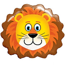 roary lion supershape balloon helium balloons delivered uk