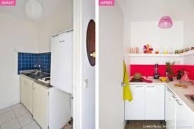 cuisine 3m2 avant après une cuisine glossy et girly maison créative