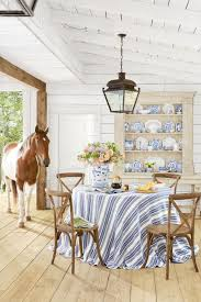 Best Dining Room Decorating Ideas Country Dining Room Decor - Blue and white dining room