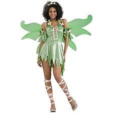 Bell Halloween Costumes Adults Amazon Secret Wishes Women U0027s Enchanted Creature Green