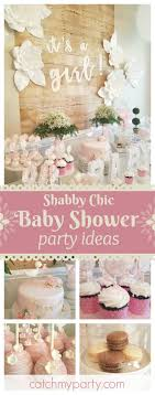 shabby chic baby shower ideas baby shower it s a girl baby shower dessert table shabby and
