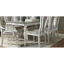 antique white dining table magnolia manor collection rc willey
