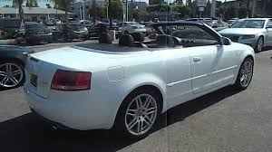 white audi a4 convertible for sale 2009 audi a4 2 0t cabriolet 2d los angeles ca 320224