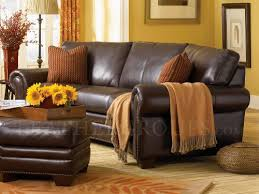 Leather Trend Sofa Borghese Top Grain Leather Conversation Sofa Set By