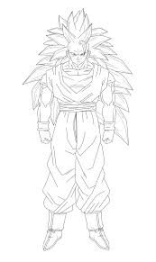 son goku super saiyan 3 by dark crawler on deviantart