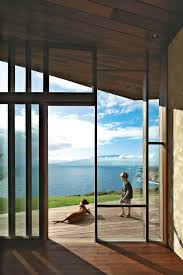 photo 6 of 10 in clifftop house with angled roof in maui dwell