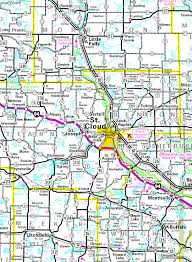 scsu map guide to st cloud minnesota