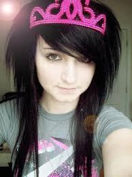 cute emo teen girls hairstyles for black hair serpden