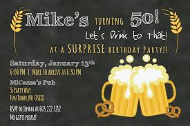 50th birthday party invitations for men cimvitation