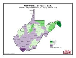 County Map West Virginia by Census 2010 News U S Census Bureau Delivers West Virginia U0027s