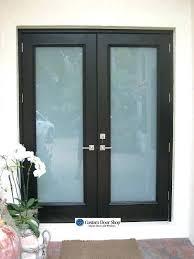 Frosted Glass Exterior Doors Modern Glass Exterior Doors Squares Etched Glass Front Doors