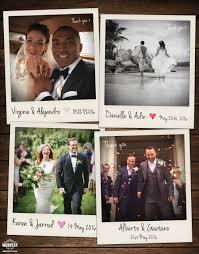 wedding photo thank you cards wedding polaroid photo thank you cards wedfest