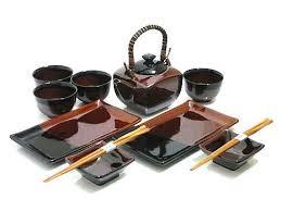 Japanese Gift Ideas Hearth Stone Japanese Sushi And Tea Set Handmade Gift Ideas