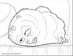 unbelievable secret life of pets coloring pages with grinch