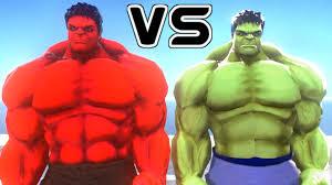 incredible hulk red hulk epic battle