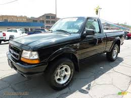 Ford Ranger Truck 4x4 - 2000 ford ranger sport regular cab 4x4 in black photo 5 a94459