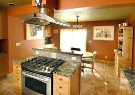 kitchen islands with stove top stove in island sjusenate com