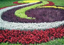 Planning A Flower Garden Layout Garden Flower Bed Ideas Flower Garden Design Ideas Front